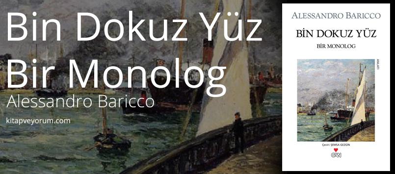 Bin Dokuz Yüz Bir Monolog alessandro-baricco